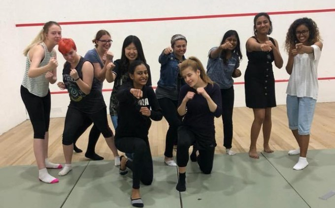 Women learn how to fight sexualassault